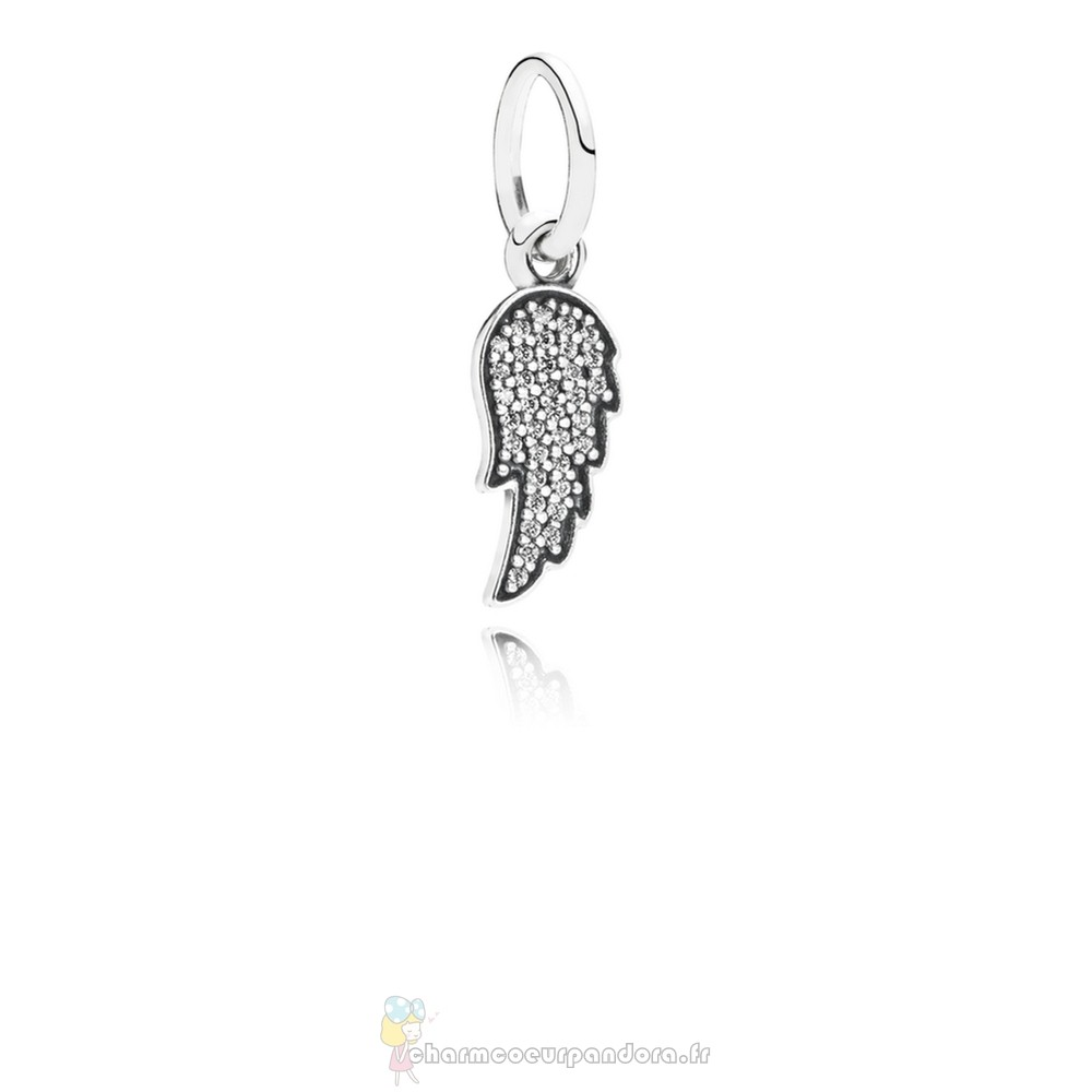 Offres Spéciales Pandora Pandora Dangle Breloques Symbole De Guidance Dangle Charm Clear Cz