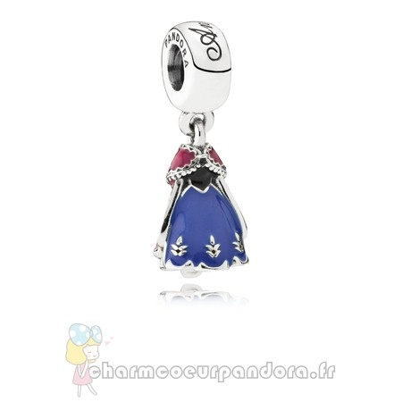 Offres Spéciales Pandora Pandora Disney Collection Disney Poupee D'Anna Dangle Charm Mixed Enamel