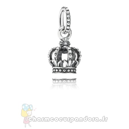 Offres Spéciales Pandora Pandora Fairy Tale Charms Noble Splendor Crown Dangle Charm
