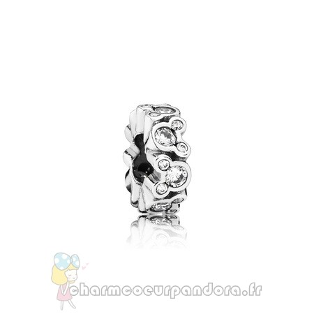 Offres Spéciales Pandora Pandora Espaceurs Charms Disney Mickey All Around Spacer Clear Cz